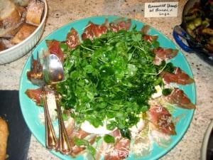Watercress and Pancetta